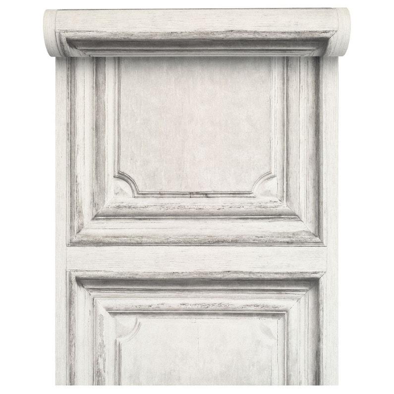 Papier Peint Intissé Moulure Blanc Leroy Merlin