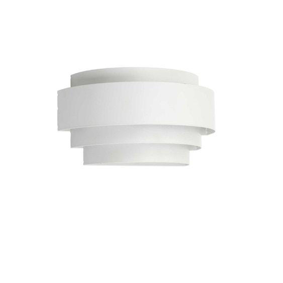 Applique, design e14 Aroma métal blanc , 1 MATHIAS | Leroy Merlin