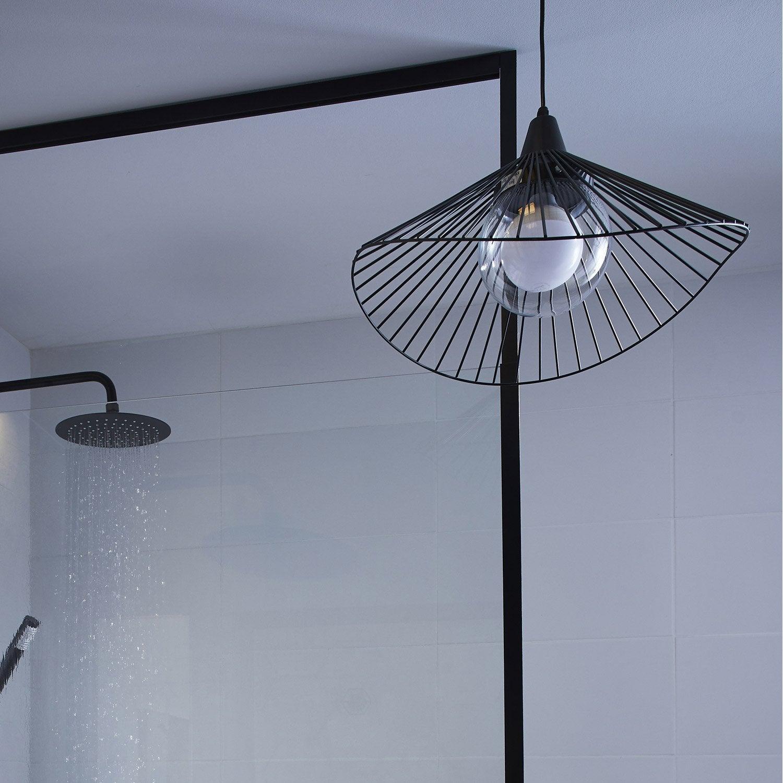 Suspension Kasteli, Sans Ampoule, Noir; E27 INSPIRE