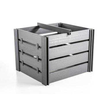 composteur bois acier plastique au meilleur prix leroy merlin. Black Bedroom Furniture Sets. Home Design Ideas