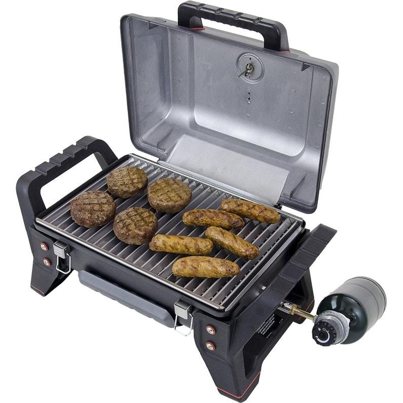 Barbecue Au Gaz Char Broil Grill2go Gris Acier
