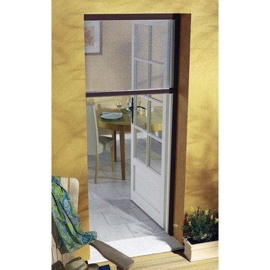 moustiquaire pour porte fen tre enroulement vertical moustikit x leroy merlin. Black Bedroom Furniture Sets. Home Design Ideas
