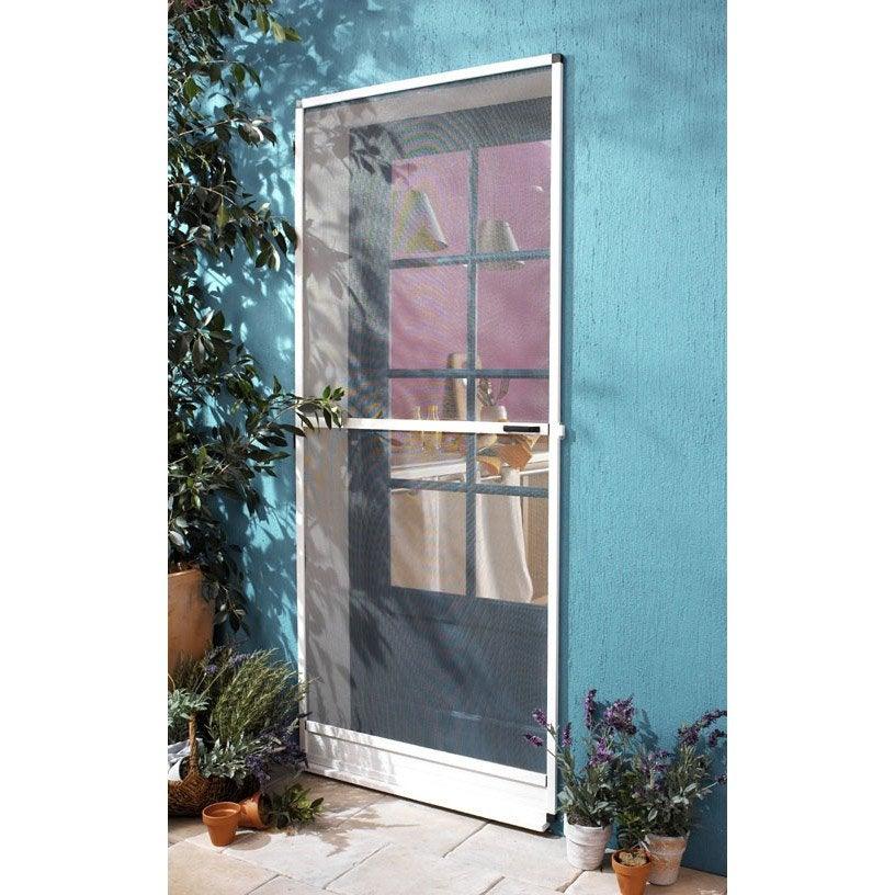 moustiquaire pour porte moskitop x cm leroy merlin. Black Bedroom Furniture Sets. Home Design Ideas