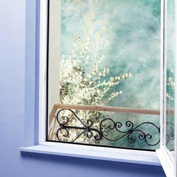 Moustiquaire pour fenêtre avec fixation auto-agrippante MOSKITOP H.100 x l.100cm