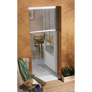 Moustiquaire pour porte-fenêtre à enroulement vertical MOUSTIKIT H.230 x l.150cm
