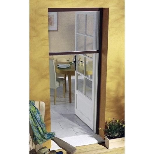 Moustiquaire pour porte fen tre enroulement vertical - Moustiquaire pour porte fenetre a enroulement lateral ...