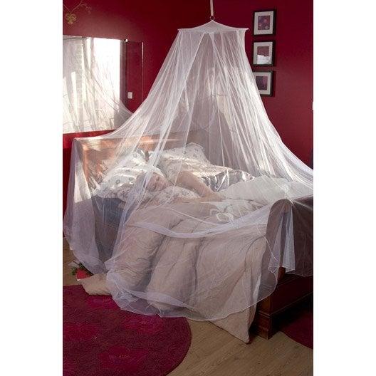 moustiquaire pour lit moskitop h.250 x l.850 cm | leroy merlin