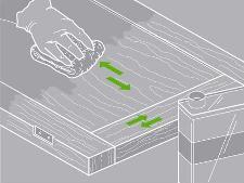 Comment restaurer un meuble leroy merlin for Restaurer un meuble en bois vernis