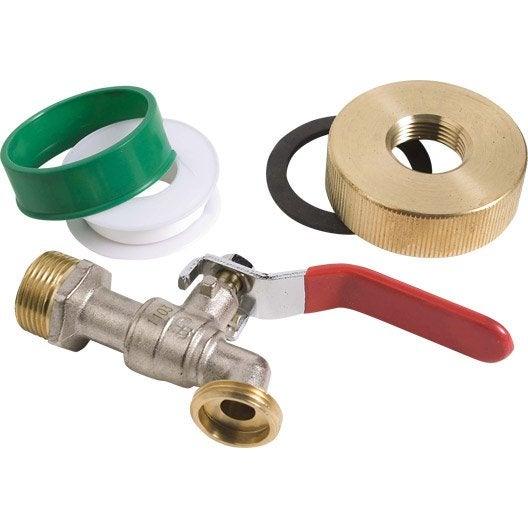 accessoires pour recuperateur d'eau de pluie | leroy merlin - Robinet Pour Recuperateur D Eau De Pluie