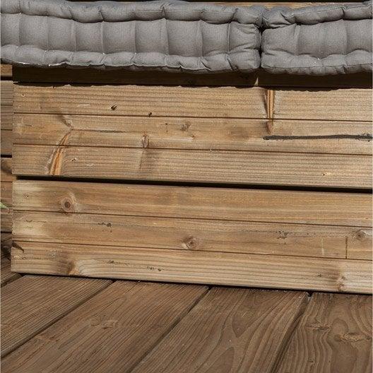planche douglas en bois marron naterial l 250 x l 17 5 cm x ep 42 mm leroy merlin. Black Bedroom Furniture Sets. Home Design Ideas
