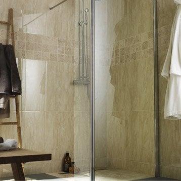 Paroi de douche l 39 italienne douche leroy merlin - Paroie douche italienne ...