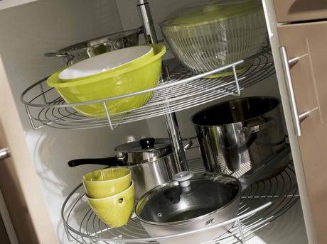 Tout savoir sur le rangement dans la cuisine leroy merlin for Accessoires rangement cuisine