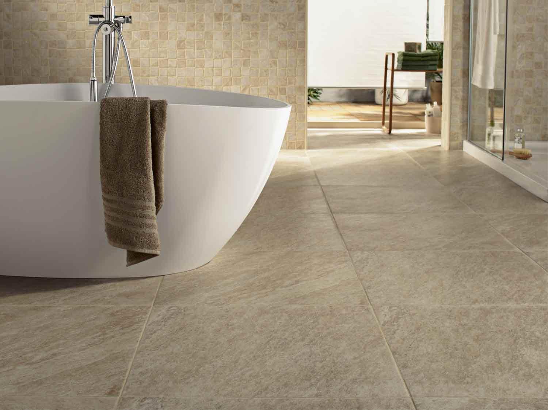 Comment choisir son sol de salle de bains ? | Leroy Merlin