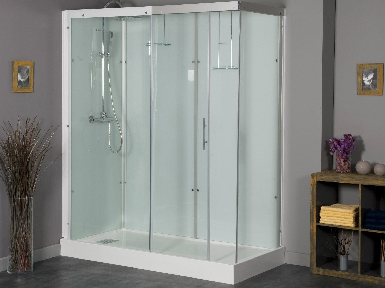 installer une cabine de douche. Black Bedroom Furniture Sets. Home Design Ideas