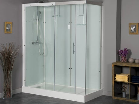 Comment installer une cabine de douche leroy merlin for Installation cabine douche