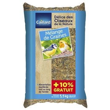 Aliments pour oiseaux Pfcois5-10-bx plastique