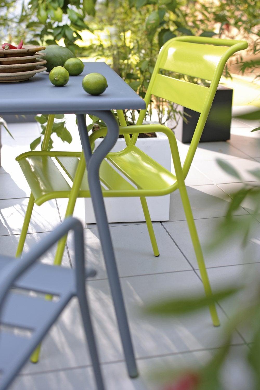 Salon de jardin coloré | Leroy Merlin