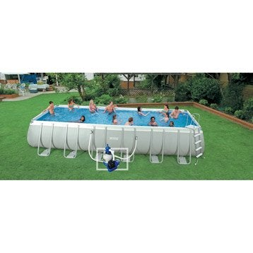 Piscine piscine et spa leroy merlin for Piscine bois rectangulaire 3x6