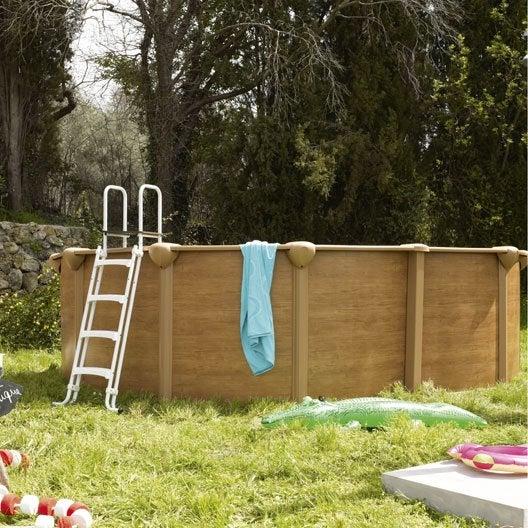 Piscine piscine hors sol gonflable tubulaire leroy for Piscine hors sol 1 50 hauteur