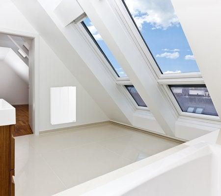 radiateur lectrique connect inertie pierre sauter gyali 1500 w leroy merlin. Black Bedroom Furniture Sets. Home Design Ideas