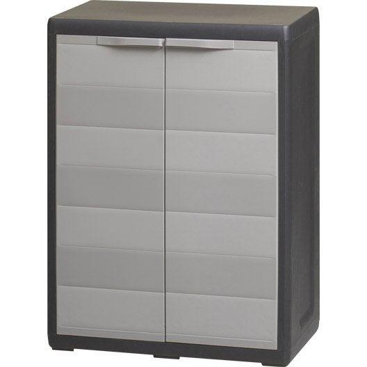 Etag re et armoire utilitaire armoire m tallique for Armoire de rangement exterieur leroy merlin
