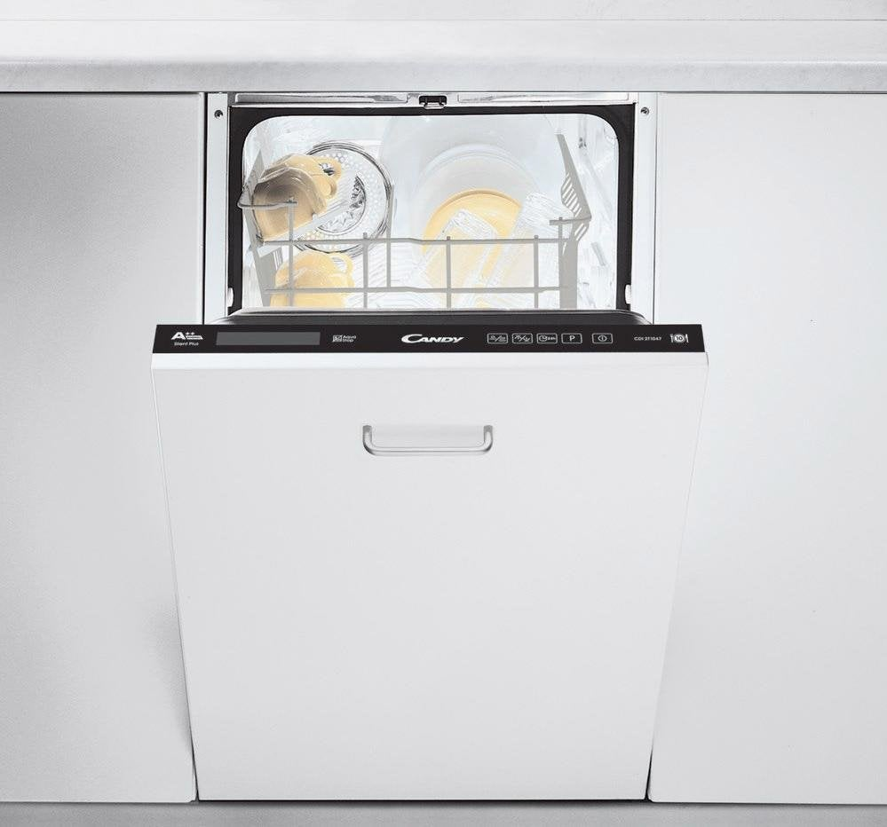Lave Vaisselle Encastrable L45 Cm Candy Cdi2t1047 10 Couverts