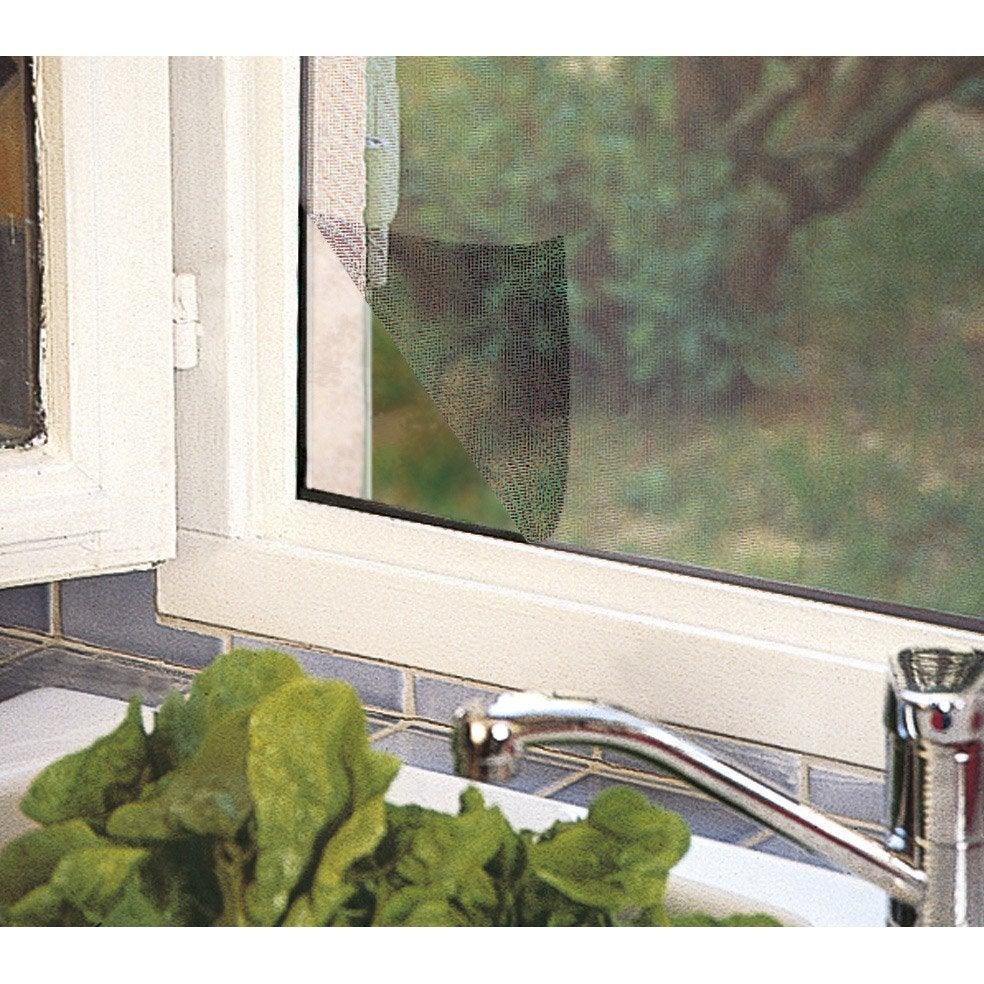 Moustiquaire Pour Fenêtre Avec Fixation Auto Agrippante Kocoon H150 X L130 Cm
