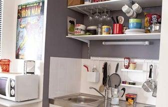 Bien am nager une petite cuisine leroy merlin for Petite cuisine equipee studio
