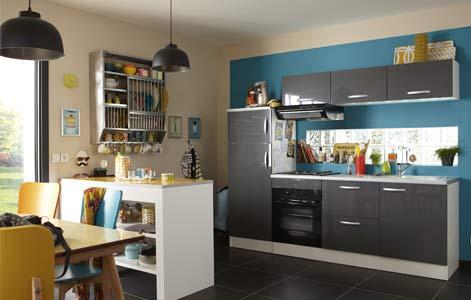 Tout savoir sur l\'aménagement d\'une petite cuisine | Leroy Merlin