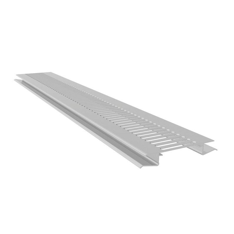 Grille De Ventilation Pvc Freefoam Blanc 3 M