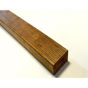 Lambourde pour terrasse bois exotique Hévéa, L.2.4 m x l.7 cm x Ep.42 mm