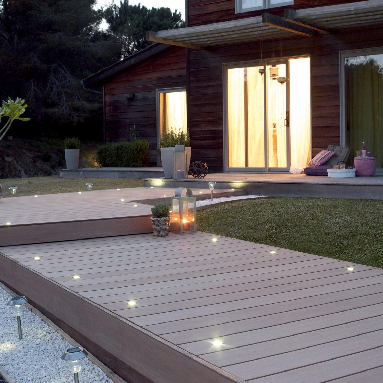 terrasse en bois ou composite de 15 m² par Leroy Merlin  Leroy