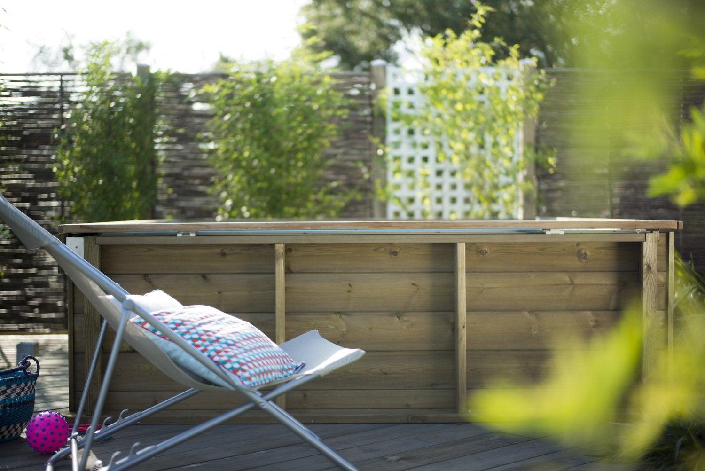 Douche solaire droite abs noir solaris de luxe 35 l - Local technique piscine leroy merlin ...