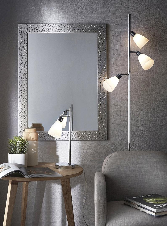 Des miroirs qui refl tent votre style for Miroir gris argent