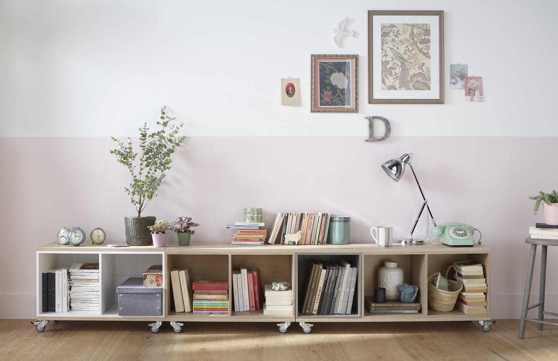 id es originales pour ranger ses livres leroy merlin. Black Bedroom Furniture Sets. Home Design Ideas