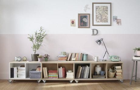 Des meubles à roulettes faciles à déplacer