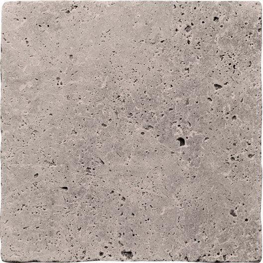 travertin sol et mur beige effet pierre veritable l x l cm. Black Bedroom Furniture Sets. Home Design Ideas
