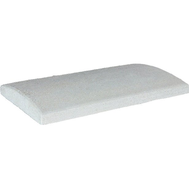 couvre mur arrondi couvre mur lisse arrondi lisse gris h 5 x x cm leroy merlin. Black Bedroom Furniture Sets. Home Design Ideas