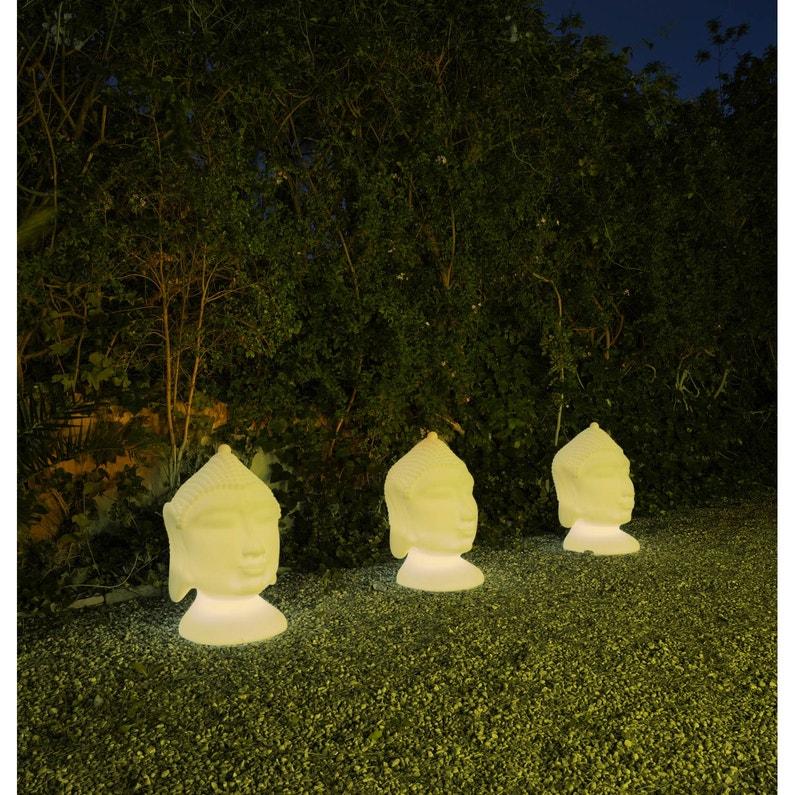 Lampe de jardin extérieure Goa E27 15 W = 800 Lm, blanc NEWGARDEN