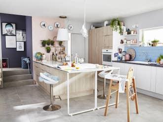 Cuisine équipée Aménagement Cuisine Et Kitchenette Leroy Merlin - Promo gaziniere gaz pour idees de deco de cuisine