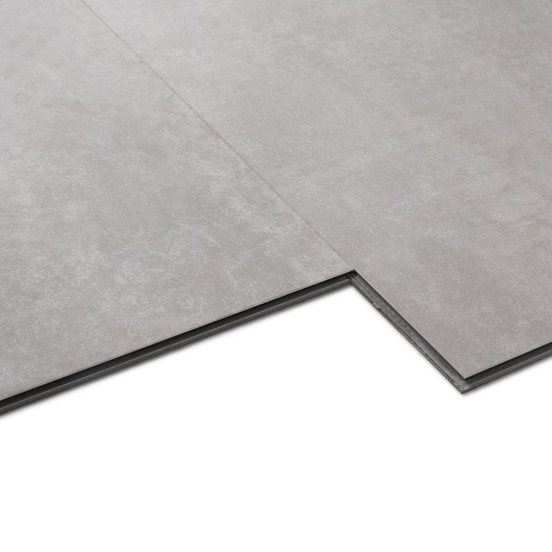 dalle pvc clipsable silver artens knock leroy merlin. Black Bedroom Furniture Sets. Home Design Ideas