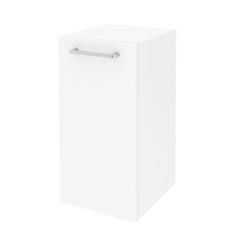 Meuble de salle de bains l.35.9 x H.70 x P.38 cm, blanc, Easy