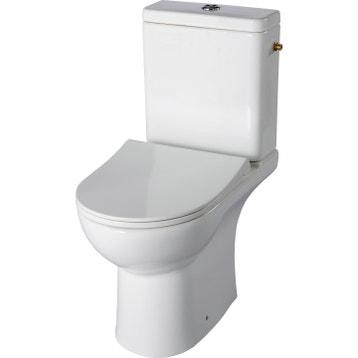 Super Wc Lave Main Intégré Leroy Merlin wc à poser - wc, abattant et lave-mains - toilette au meilleur prix