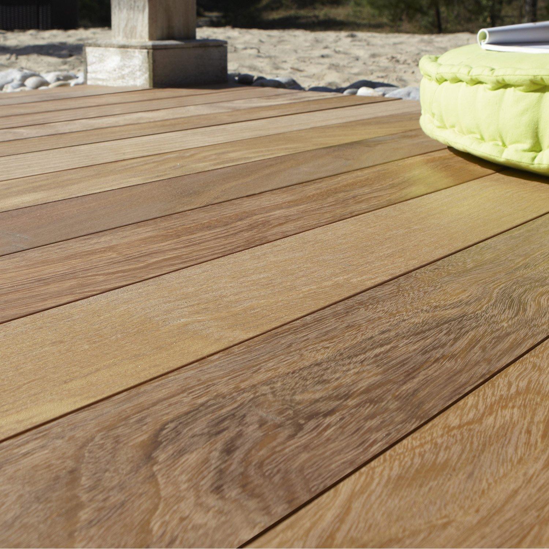 Planche bois tali naturel x cm x mm for Planche bois pour exterieur