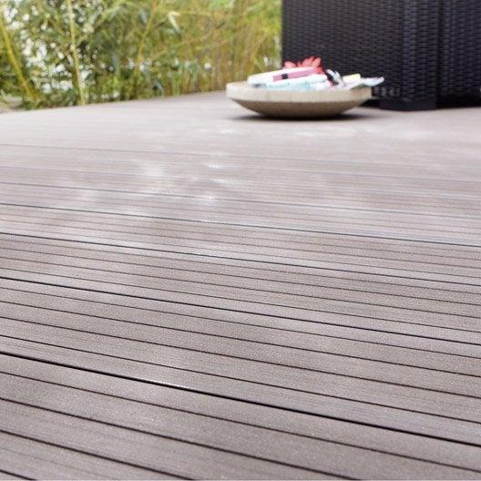 Planche grafik composite en pin brut naterial l 240 x l 14 cm x ep 26 mm l - Planche en composite prix ...