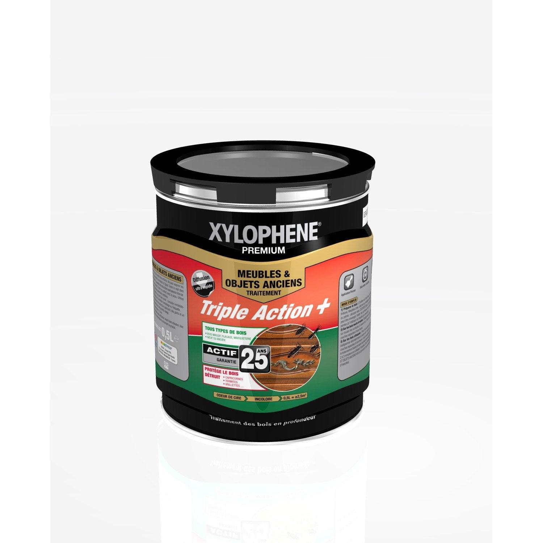 traitement du bois meuble xylophene premium 25 ans 0 5 l leroy merlin. Black Bedroom Furniture Sets. Home Design Ideas