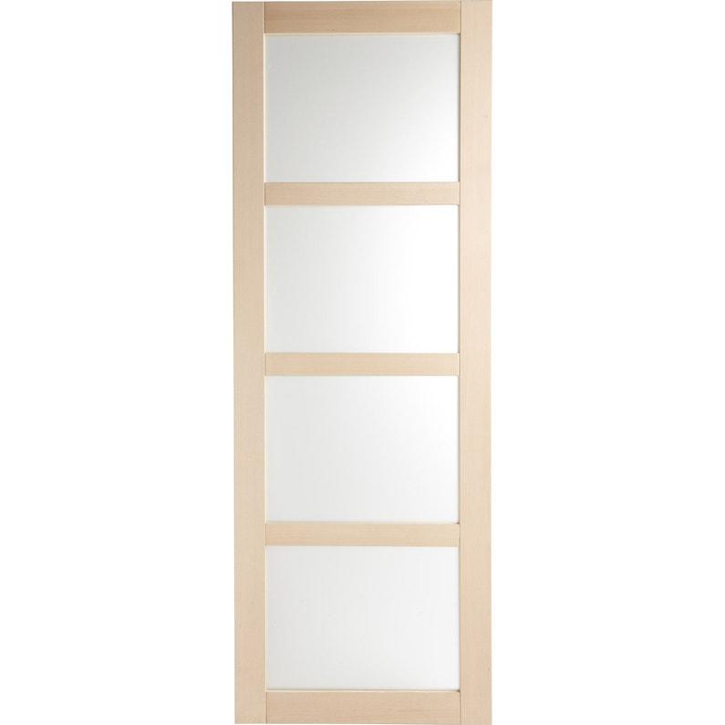 porte coulissante h tre plaqu e h tre nova vitr e artens x cm leroy merlin. Black Bedroom Furniture Sets. Home Design Ideas