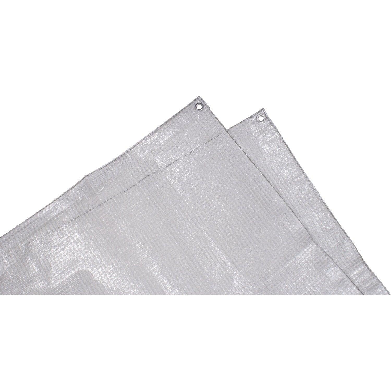 Bache De Protection En Pe Rectangulaire 400 X 500 Cm Transparent