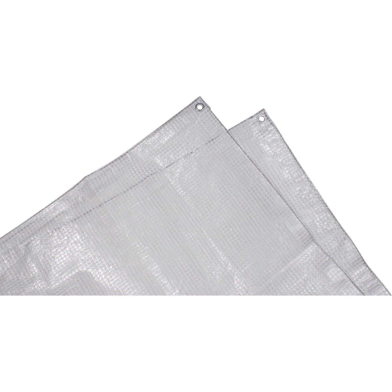 B che de protection en pe rectangulaire 200 x 300 cm transparent leroy merlin - Bache de protection leroy merlin ...