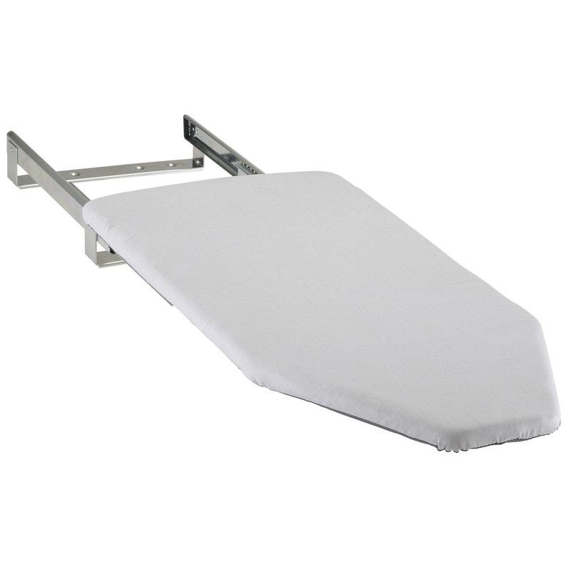 Table A Repasser Rabattable Gris H 13 X L 35 X P 80 Cm Leroy Merlin